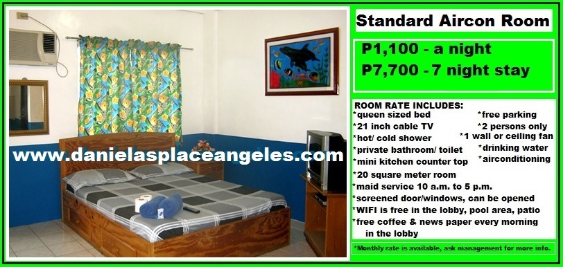 Danielas Place Budget Hotel in Angeles City by Clark_Cheap Standard Room