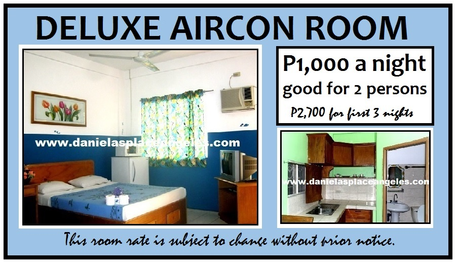 Danielas Place Budget Hotel in Angeles City Pampanga Philippines_Deluxe Aircon Room