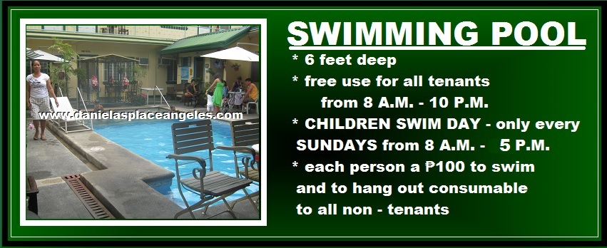 danielas place on promo free swimming pool use budget price hotel in angeles city philippines