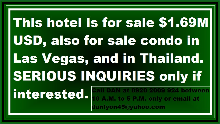 fo sale hotel danielas place on promo cheap mini bar by swimming pool hang out budget price hotel in angeles city philippines