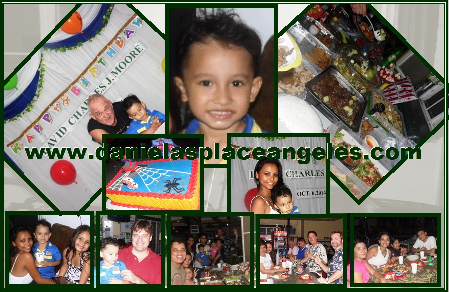 Danielas Place Cheap Budget Hotel in Angeles City Philippines_David Charles 3rd Birthday Party_2014